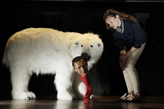Reuters polar bear
